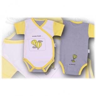 Body BALONIK Kopertowe krótki  68 żółty