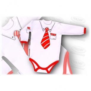 Body Celebrity 56 czerwony krawat