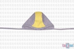 Czapeczka BIKE 38 żółty