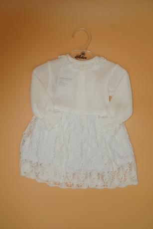 Sukienka do Chrztu 56 biały