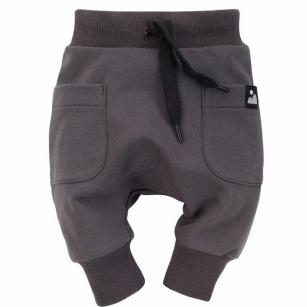 Spodnie pumpy z kieszeniami Dreamer grafit 104