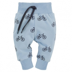 Leginsy niebieskie w rowery Summertime 80