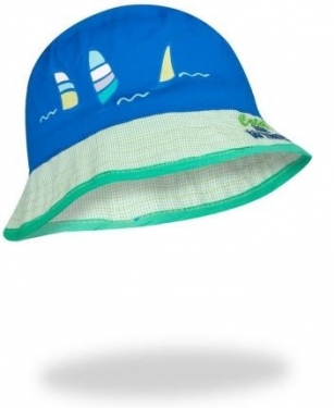 Kapelusz Windsurfing niebiesko-zielony r.48-52