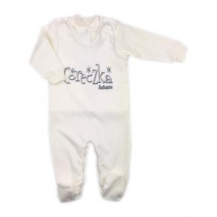 Komplet Śpiochy i kaftanik niemowlęcy Córeczka Tatusia r.62