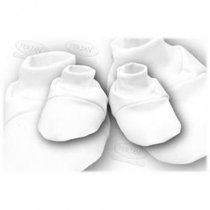 Buciki bawełniane biały
