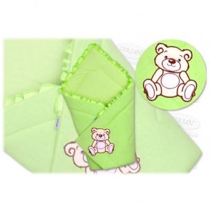 Rożek TEDDY zielony