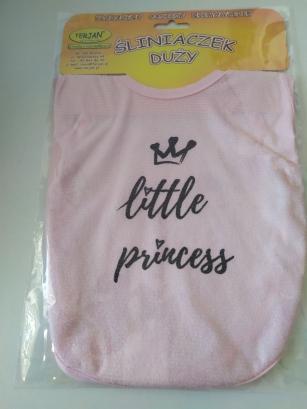Śliniak duży różowy Little Princess
