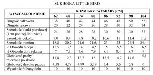Sukenka Little Bird 74