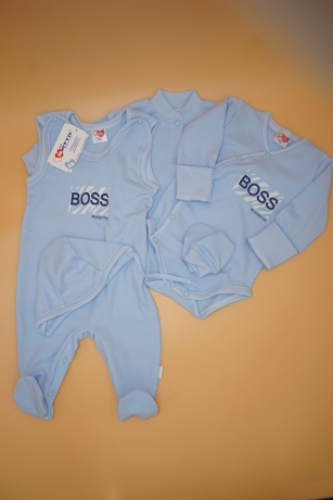 Komplet niemowlęcy 5-częściowy Boss r.62