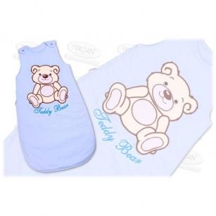 Śpiworek TEDDY BEAR 74 niebieski