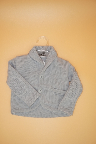 Sweterek Chłopięcy 74 szary