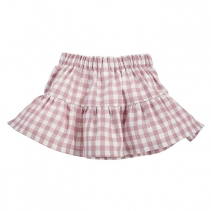 Spódnica w różową kratkę Sweet Cherry 104
