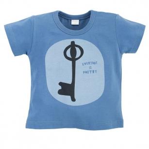 T-shirt ciemnoniebieski Summertime 104