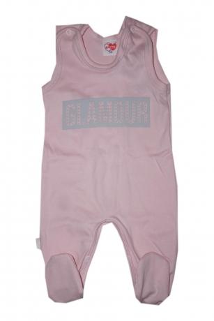 Komplet Śpiochy i kaftanik niemowlęcy Glamour r.62