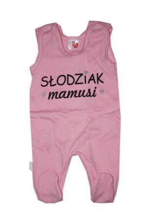 Śpiochy niemowlęce Słodziak Mamusi r.50