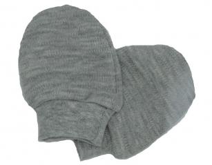 Łapki niedrapki rękawiczki szary
