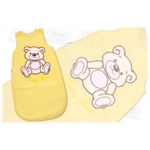 Śpiworek TEDDY BEAR 74 żółty