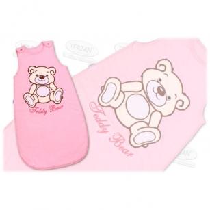 Śpiworek TEDDY BEAR 74 różowy